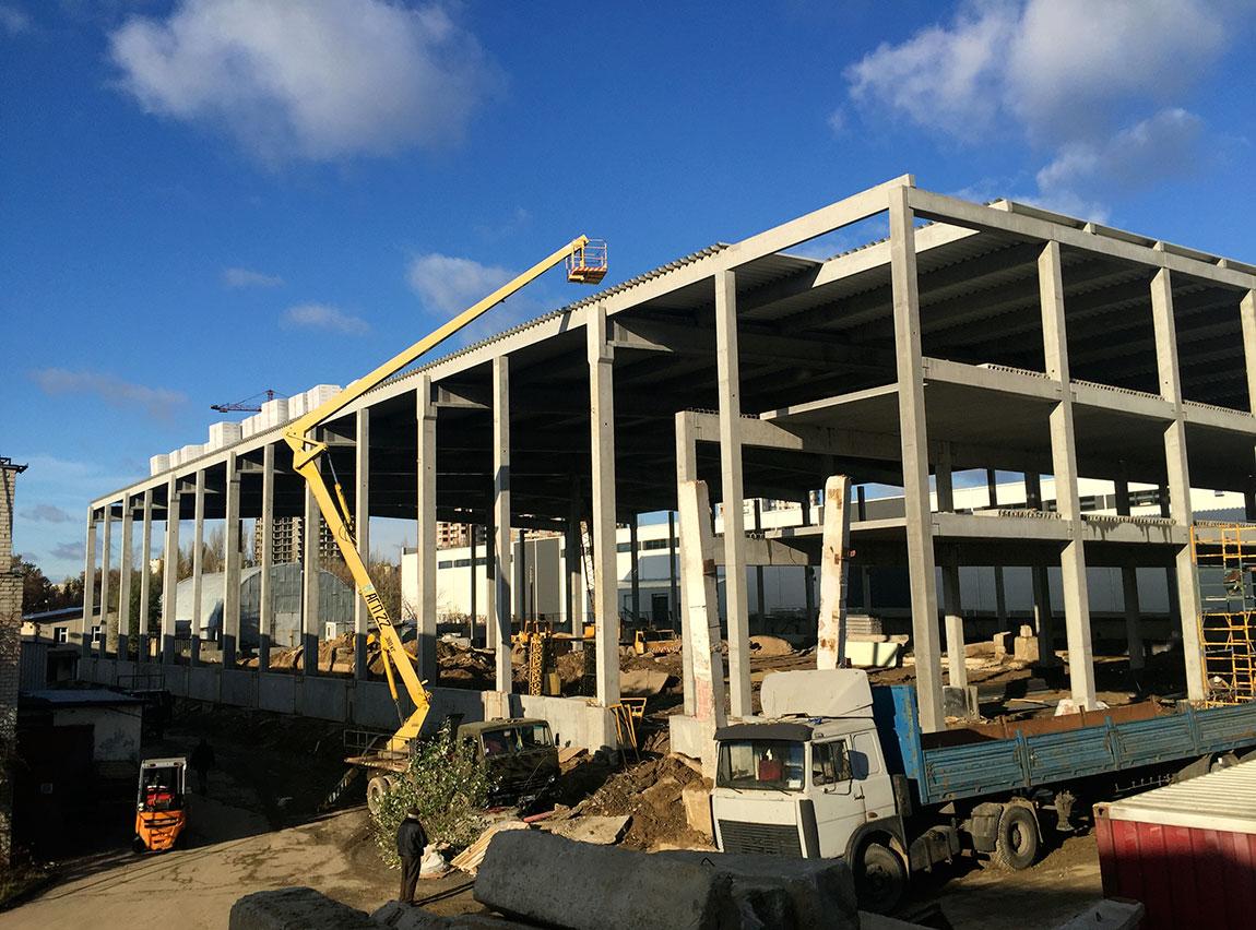 Монтаж бетонных конструкций